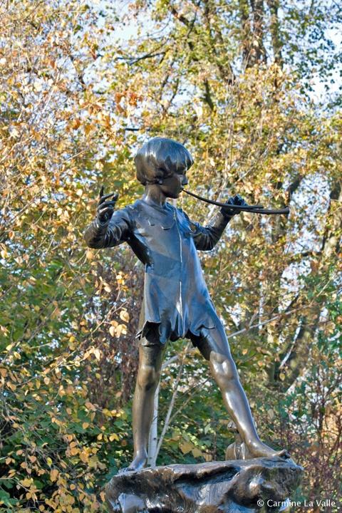 Peter Pan in Hyde Park