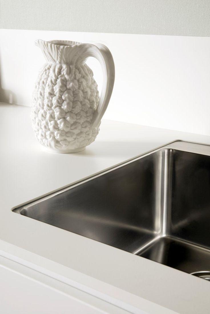 Inredning blandare bänkdiskmaskin : 25 best HI-MACS Kök images on Pinterest | Macs, Alpine white and ...