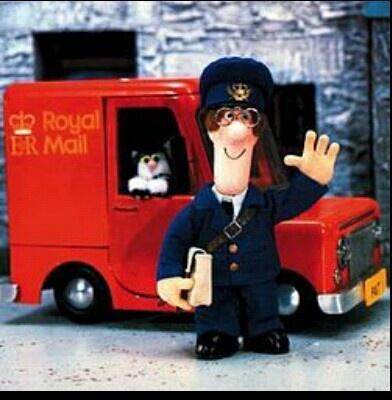 My boy, Postman Pat.