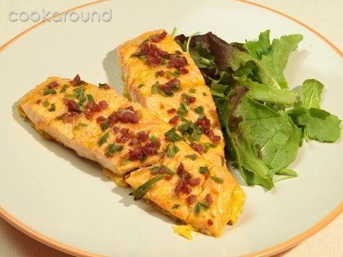 Bistecche di salmone alla viennese: Ricette Austria | Cookaround