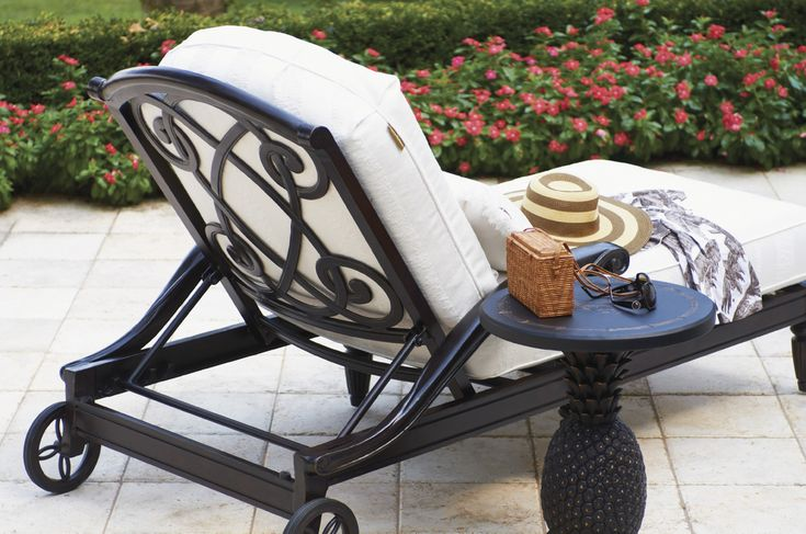 Traditional Chaise Lounge Chair from Tommy Bahama Outdoor Living
