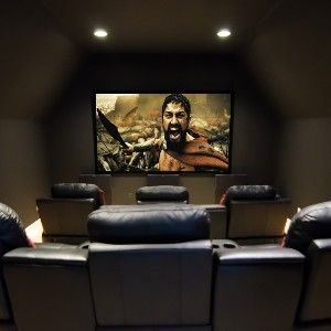 Small Room Becomes Smart Home Theater: Movie Room, Small Home Theater Room, Home Theaters, Games Room, House Ideas, Future House, House Stuff, Small Room Home Theater, Media Room