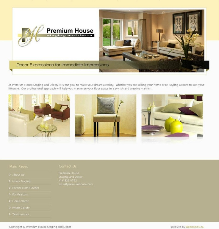See the full website at www.premiumhousestaging.com