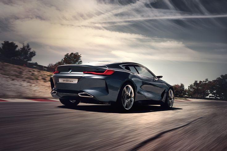 Opwindend voorproefje: de BMW concept 8 reeks. | BMW Life