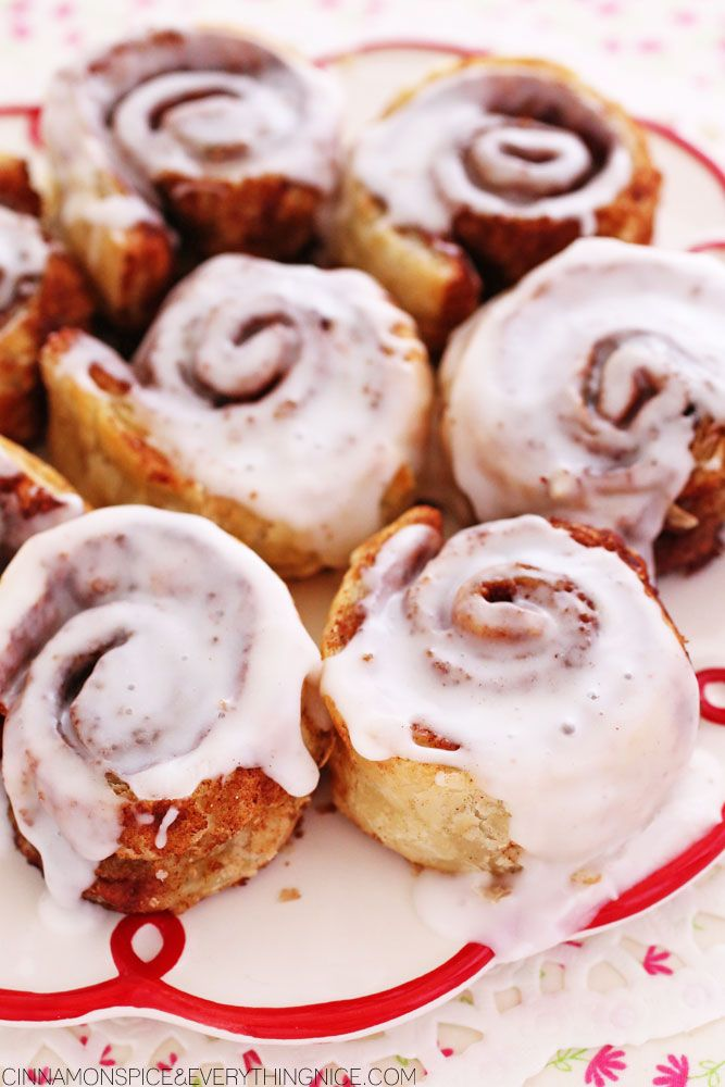 Easy Ten-Minute Cinnamon Rolls with PUFF PASTRY.