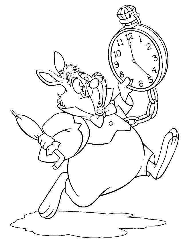 Alice+In+Wonderland+Characters+Coloring+Pages   Alice Wonderland Coloring Pages