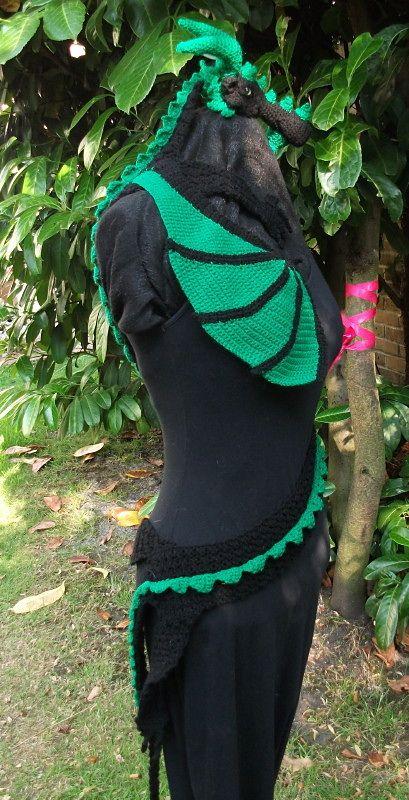 Dragon Scarf pattern by MyntKat Star's Rest Crochet