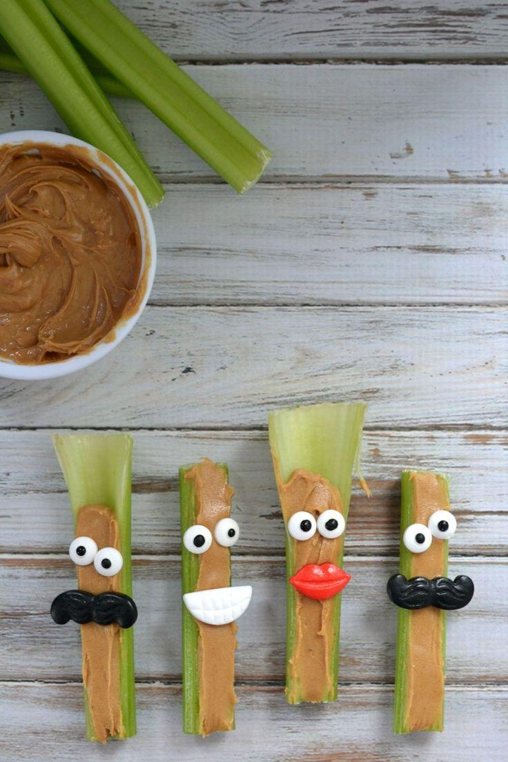 Celery snacks