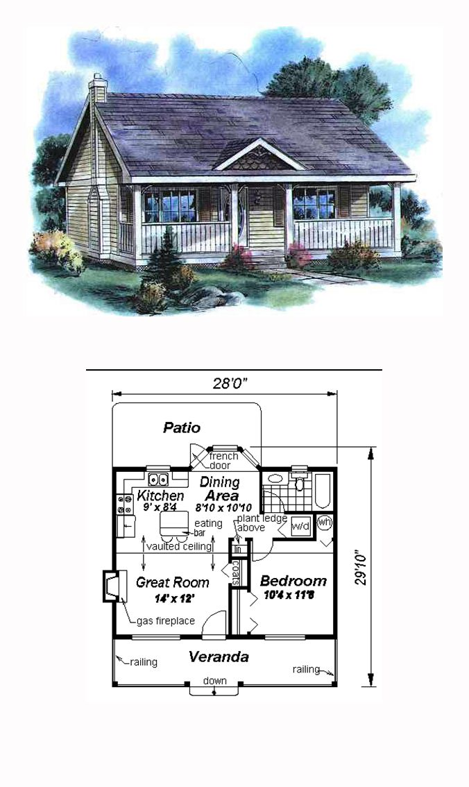 49 Best Images About Tiny Micro House Plans On Pinterest: granny cottage plans