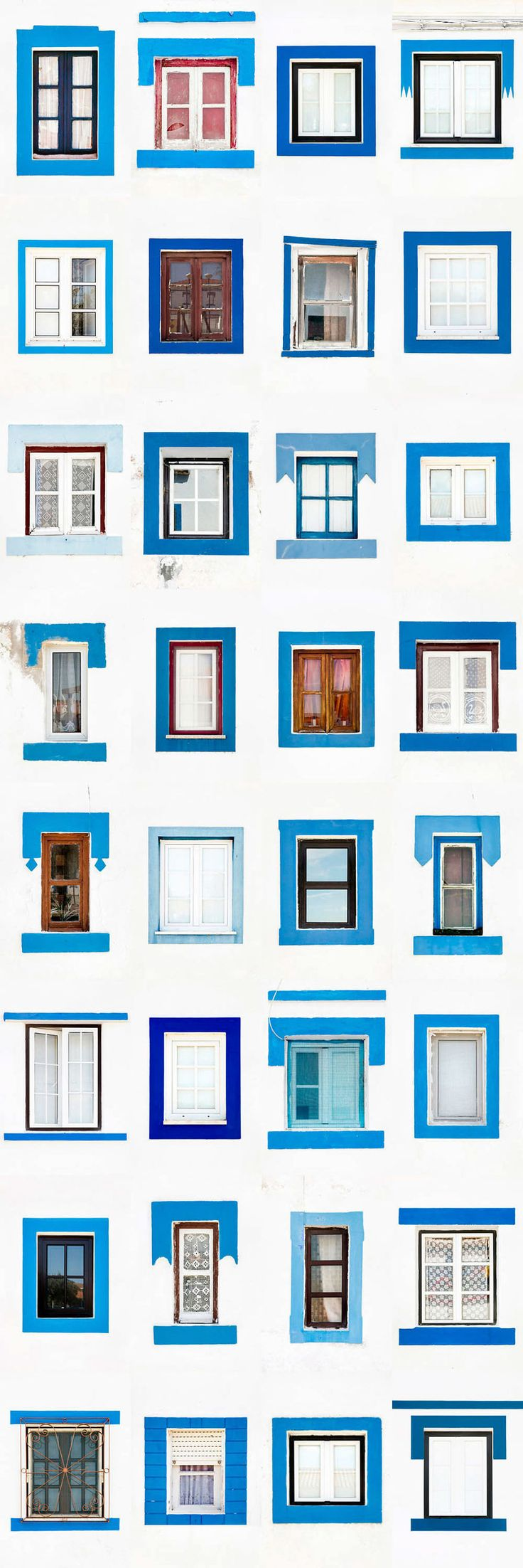 I Traveled All Over #Portugal To Photograph Windows, And Captured More Than 3200 Of Them - via BoredPanda 23-10-2017 | If you are planning a trip to Portugal, you can see which are the most beautiful cities to visit or what kind of architecture you like the most. Photo: Santa Susana