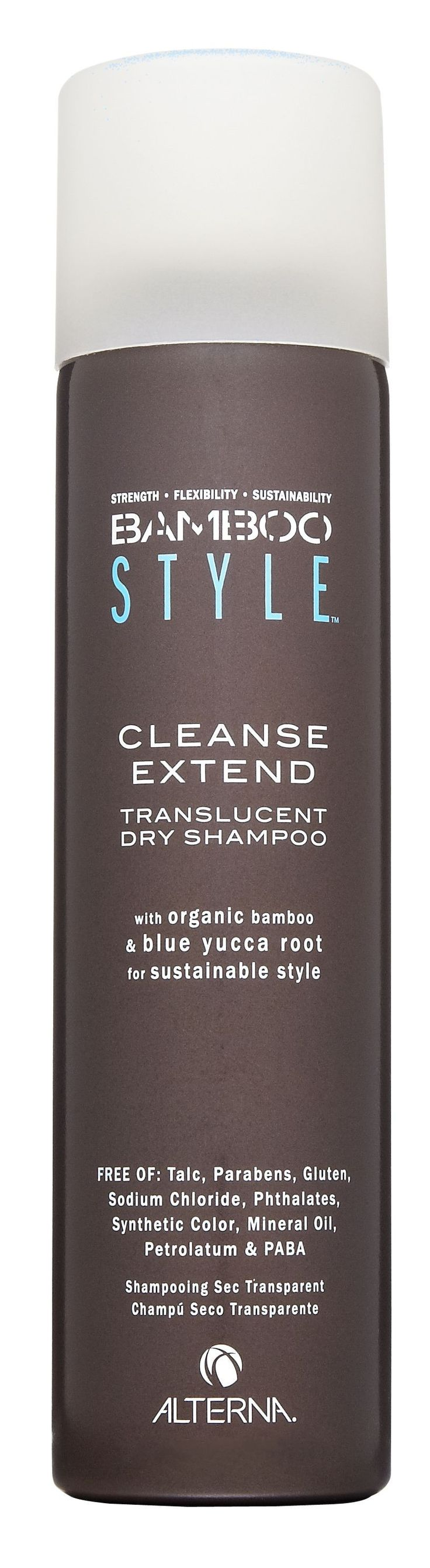 seconds to shampoo -Alterna Haircare***