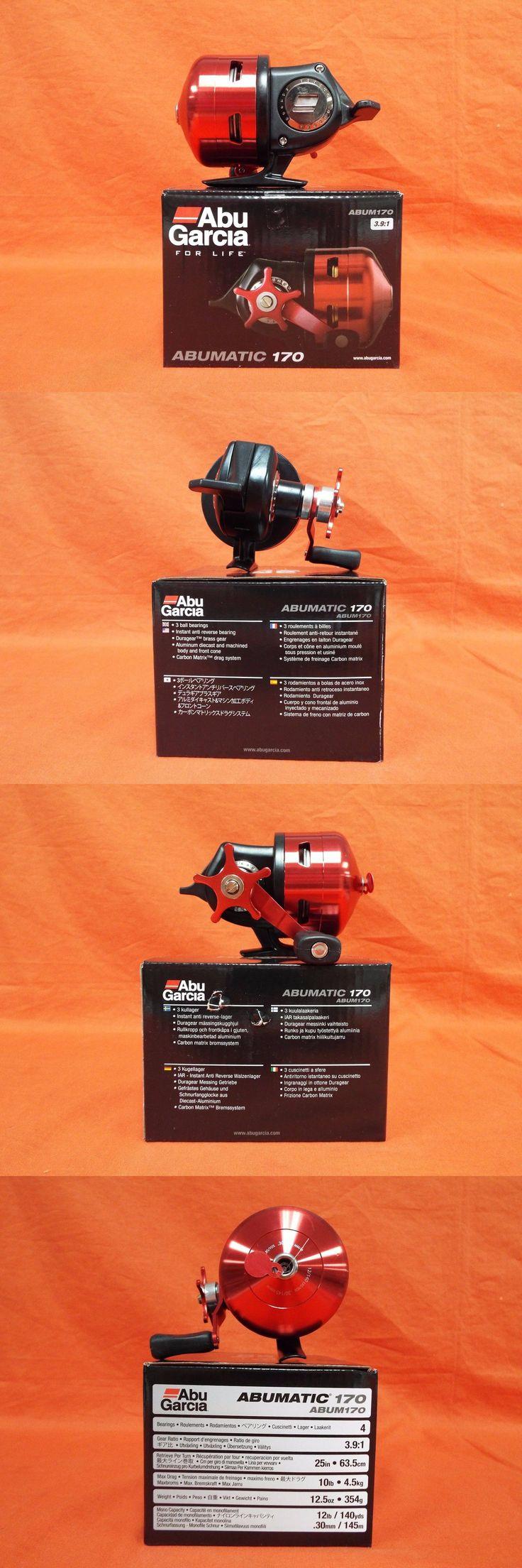 Spincasting Reels 108154: Abu Garcia Abumatic 170 Spincast Reel 3.9:1 Gear Ratio #1365370 (Abum170) -> BUY IT NOW ONLY: $49.39 on eBay!