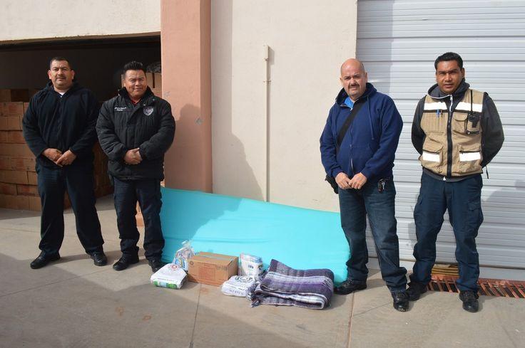 El departamento de Protección Civil y Bomberos del municipio, a cargo de su director José Alonso González Rascón, recibió una remesa considerable de...