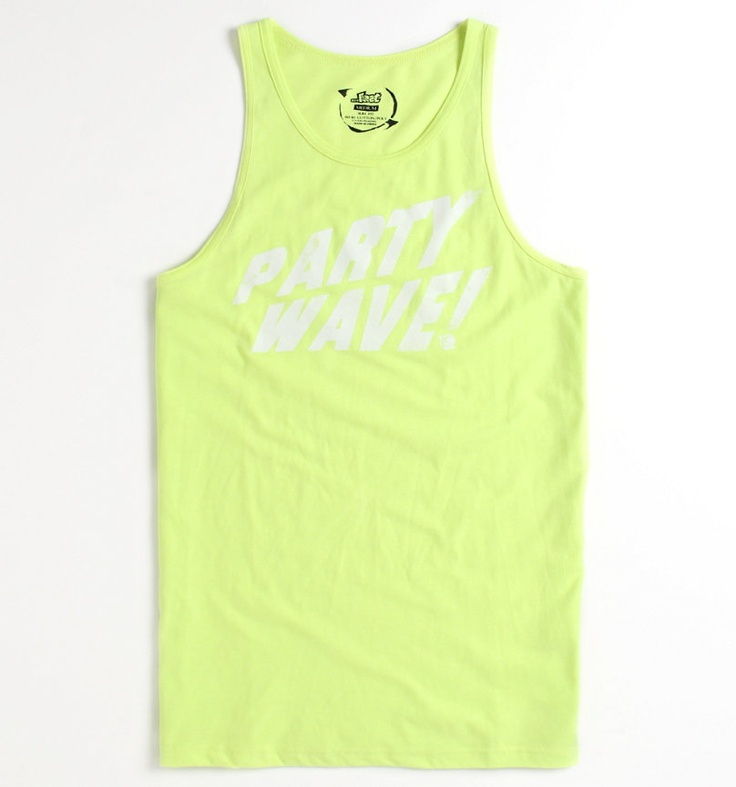 Lost Party Wave Text Tank - PacSun.com: Graphics Tees, Texts Tanks, Lost Parties, Waves Texts, Parties Waves, Apparel Graphics