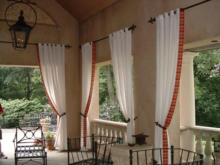 Best 25 bow window treatments ideas on pinterest for Exterior window dressing ideas