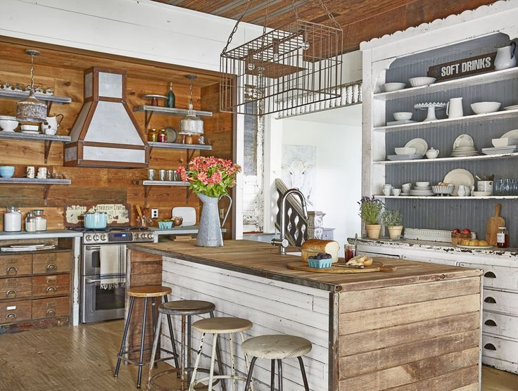Kitchen - See How a Run-Down Texas Farmhouse Became This Family's Country Dream