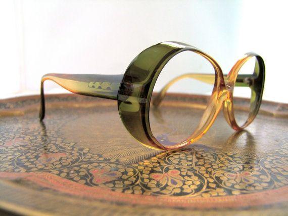 Designer Eyeglass Frames From Germany : 1960s Mod Designer Eyeglasses // 60s 70s Vintage Frames ...