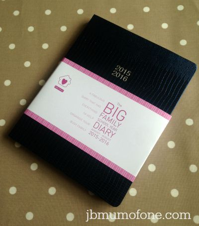 The Big Family Diary- a must have for organising the new school year!