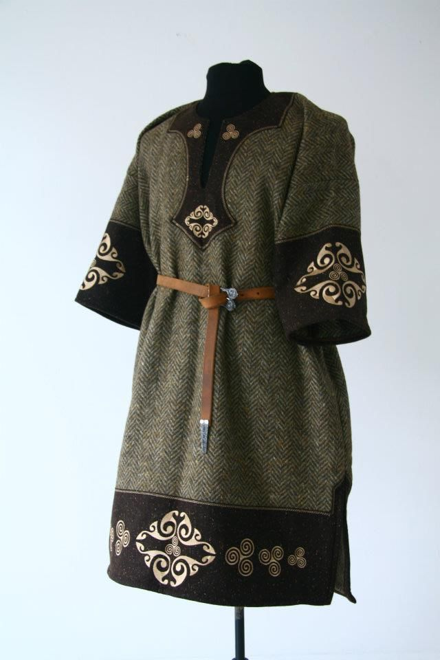 tunic embroidery