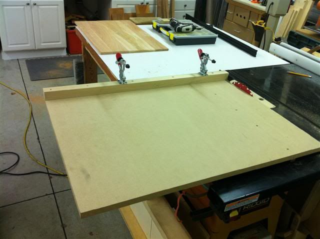 Large Sheet Sled No Boundaries On Size Piece Is Led Through By Front Dimension And Supported Toggle Clamps Woodworking Jigs Pinterest