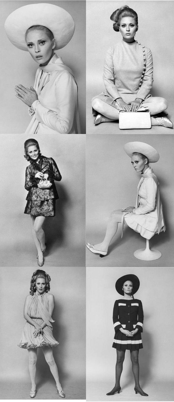 Faye Dunaway in The Thomas Crown Affair (1968). Costume Designer: Theadora Van Runkle. Faye Dunaway is so cool.