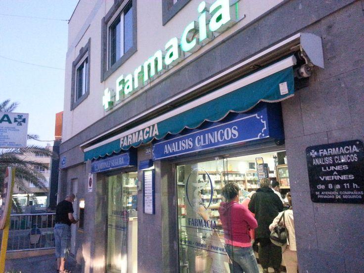 'Die Farmacia' aus dem Reiseblog 'Über Weihnachten auf den Kanaren: Urlaub im Dorado Beach auf Gran Canaria'