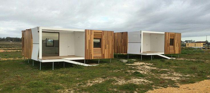 SW Lodge - Fazendo uso da mais desenvolvida técnica de construção sustentável, as casas modulares SW Lodge apresentam três tipologias de habitação (T1, T2 e T3), com uma grande incorporação de design, numa linha rustic chic.