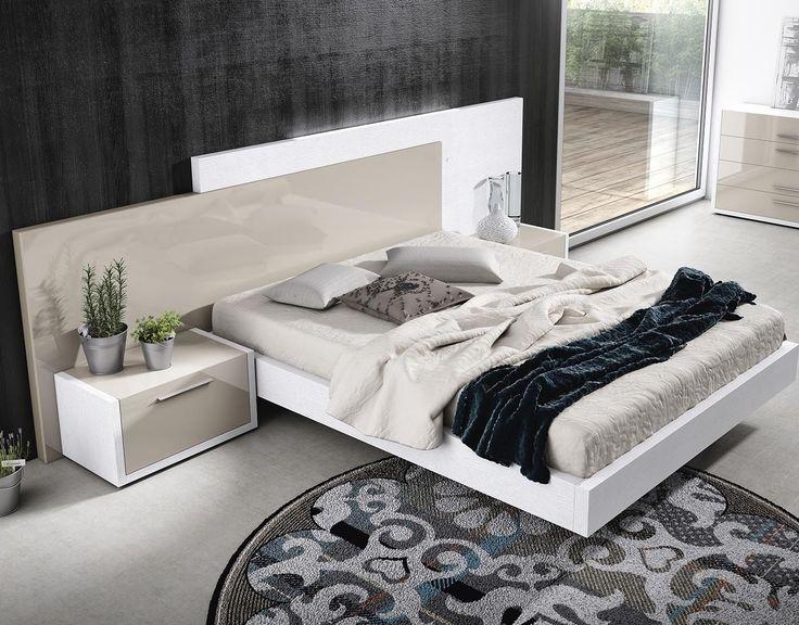 dormitorio de matrimonio moderno modelo cal