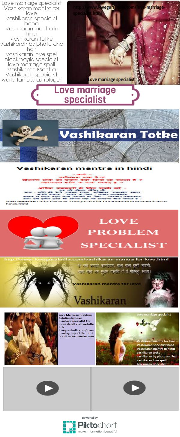 Love marriage specialist astrologer in India