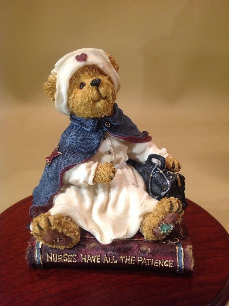"Vintage Boyds Bears And Friends ""Florence Gentlecare Touching Lives"" #228405"