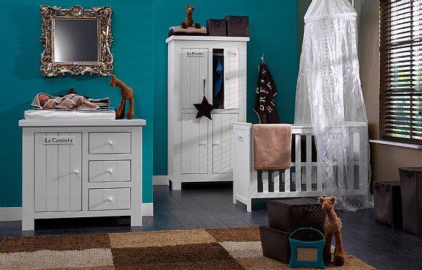 Chambre B B Gar On Bleu P Trole Chambre De Bibou Pinterest B B