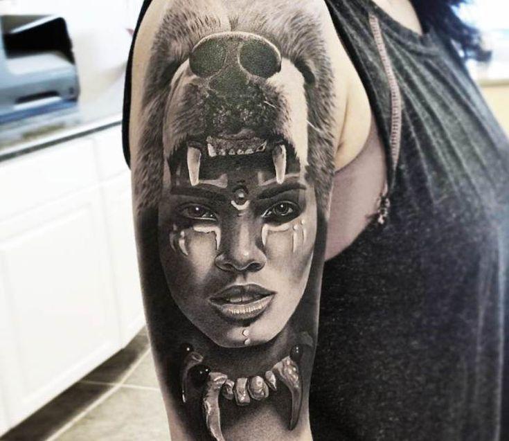Best 25+ Black Bear Tattoo Ideas On Pinterest