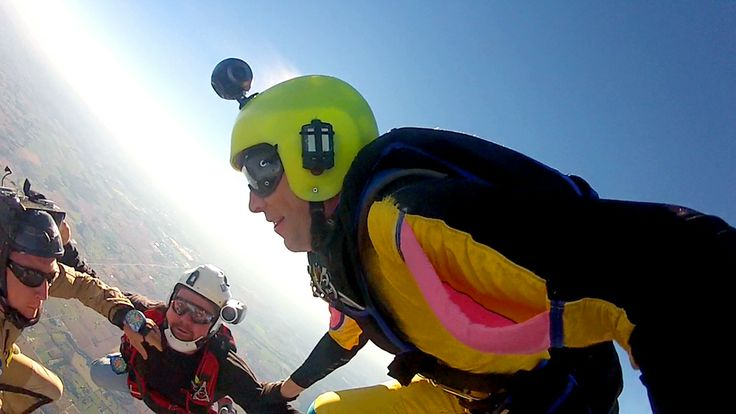 The Bublcam takes to the skies with Skydiving Toronto.