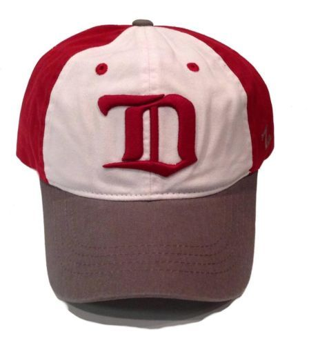 Detroit-Red-Wings-Zephyr-Trey-Unstructured-Adjustable-Hat-Size-OSFM-NWT