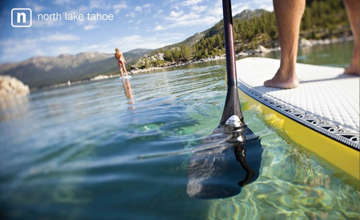 North Lake Tahoe - where else can you see 70+ feet down? Think Tahoe's crystal, clear waters are one of its best assets.