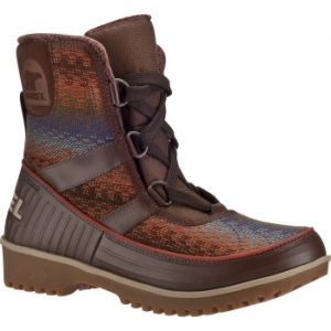 SOREL TIVOLI 2 WINTER BOOTS WOMENS  This fun; mid-cut boot offers you classic styling and dependable warmth. Waterproof suede leather upper is soft and pliable; lined with fleece; and trimmed with faux fur for eye-catching style. #womenwinterboots