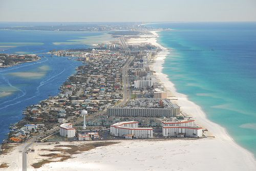 Toyota Fort Walton Beach >> Photo: Okaloosa Island - Aerial Fort Walton Beach Gulf | Lurvely | Anything Beachy | Pinterest ...
