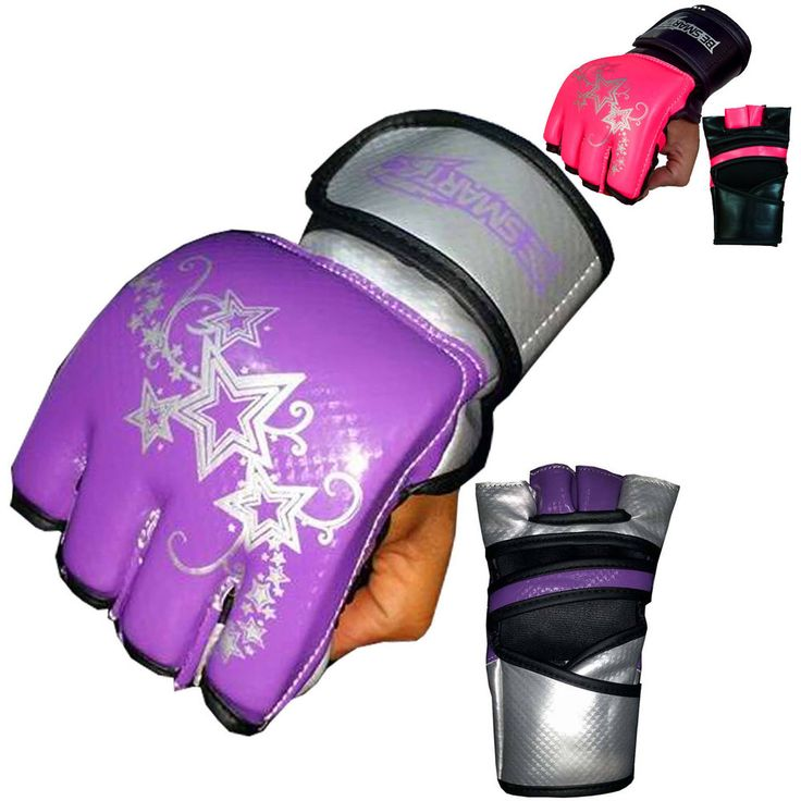 BeSmart MMA UFC Grappling Gloves Ladies Boxing Punch Bag Kick Muay Thai Womens in Sporting Goods, Martial Arts, Training Equipment | eBay