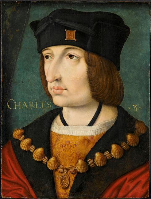 Charles VIII. ... Jean Perreal (1455-1530)