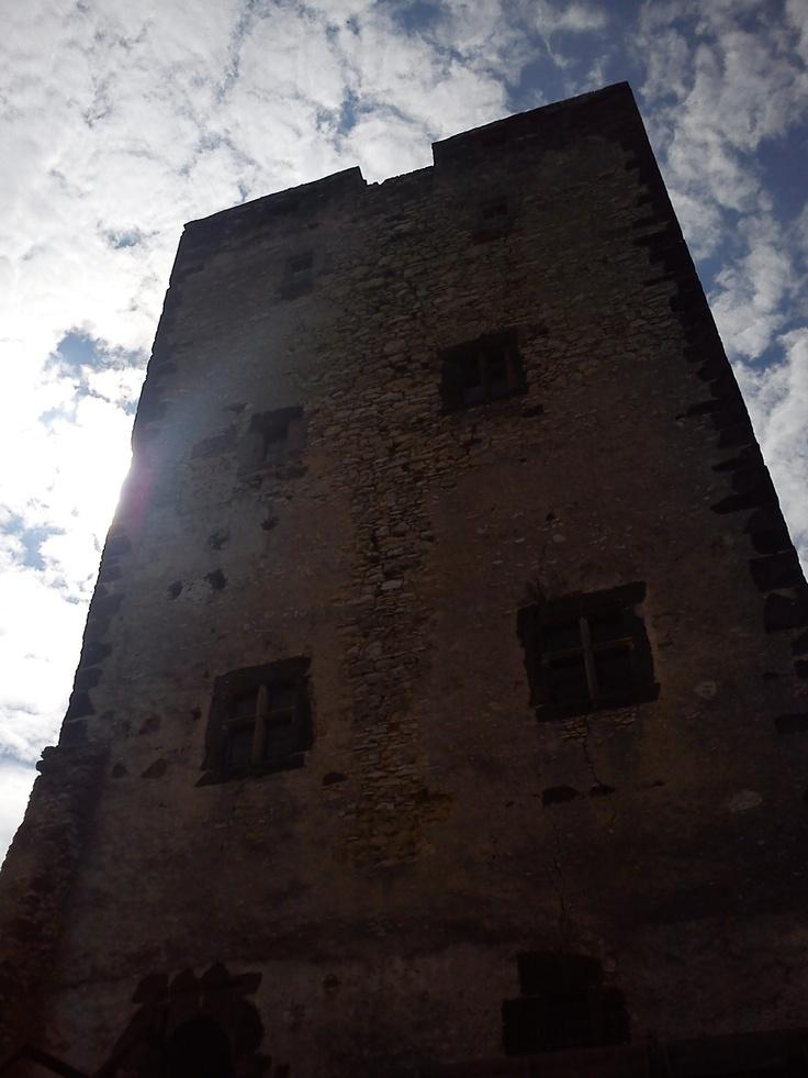 The Kinizsi Castle in Nagyvázson