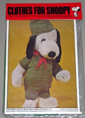 Snoopy Beagle Scout