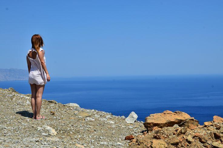 The Big Blue. For more pictures check my blog post:   http://itsafashionthing.com.gr/2015/09/02/amorgos-the-big-blue/ #amorgos #legrandbleu #greece