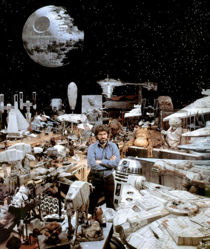 Fascinating Ways The Original Star Wars Model Makers Created Props