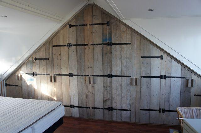Creatief met steigerhout | zolder | DIY deuren | 9 ideeën - Makeover.nl