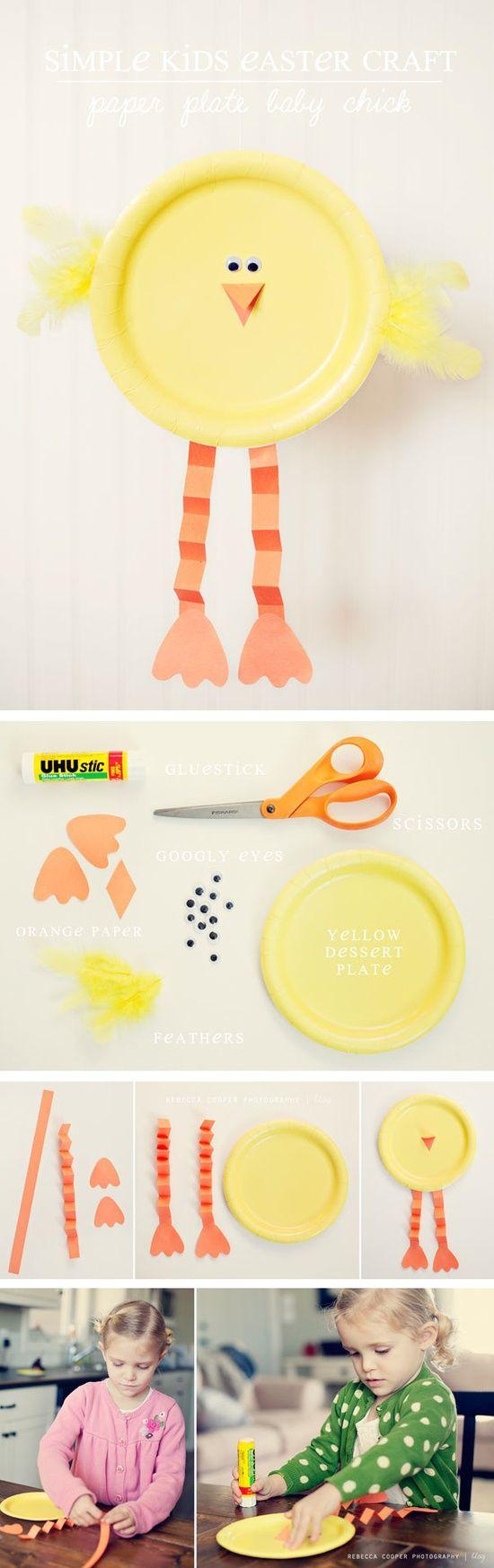 Chick plate craft