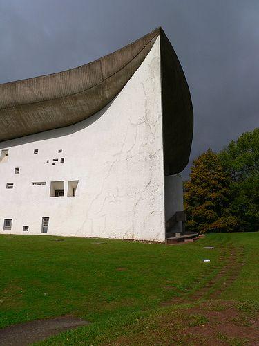 Le Corbusier's  Chapelle Notre-Dame-du-Haut