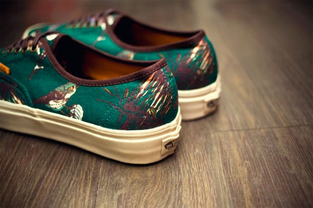 "Vans CA ""Birds"" Pack Green"