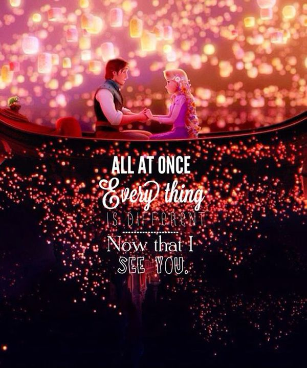 Sprinkle a Little Disney Inspiration in Your Wedding with a Love Quote