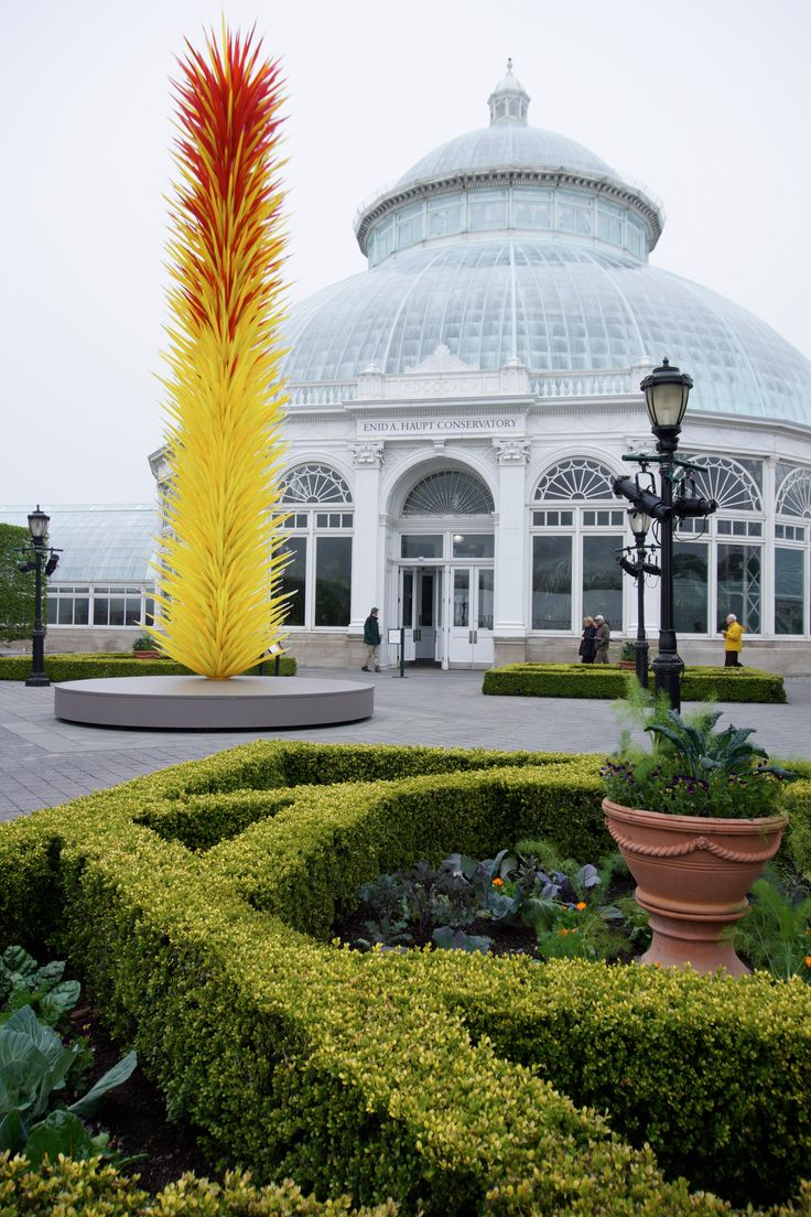 Chihuly Glass Displays At The Gardens