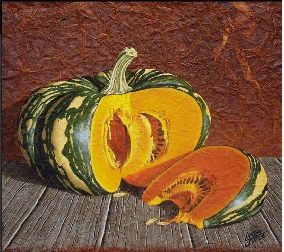 This cold miserable weather makes me feel like making some yummy Pumpkin Soup! #pumpkin #vegetarian #soup #food #acrylicpainting #acrylicart #farmlife #fineart #lifeonthefarm #nawden #triplesartists #world_art_sharing #theartlovers #arts_help #BESTDM #artistmafia